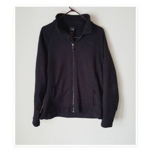 The North Face Black Zip Up